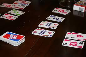 skipbo cards on the table